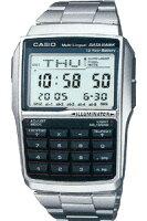 【ランニングウォッチ】カシオデータバンク(DBC-32D-1A)DATABANK10年電池モデル腕時計CASIO日本未発売モデル激安!57%オフ!