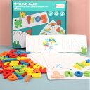 おもちゃ パズル 木製 知育玩具 教育おもちゃ  A・B・C 英語 ベビー 赤ちゃん 幼児 子供 男の子 女の子 子ども 教材 誕生日 クリスマス プレゼント