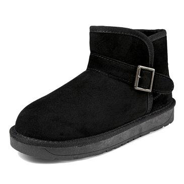 【在庫処分】冬 メンズ レディース ムートン ブーツ ショート丈 スノーブーツ ショートブーツ 軽量 暖かい モコモコ ふわふわ カジュアル オシャレ