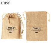 me1stJapan(ミーファースト)公式ホームモカシン専用ギフトラッピング100%天然ジュート巾着