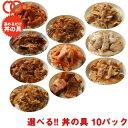 選べる 福袋 丼の具 (10P) 【牛肉 8種類の具材からお
