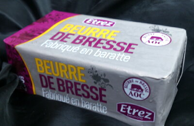 【無塩発酵バター】フランス ブレス AOCバター 食塩不使用 250g