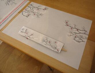 SHOCHIKUBAI箸包み(3膳入)