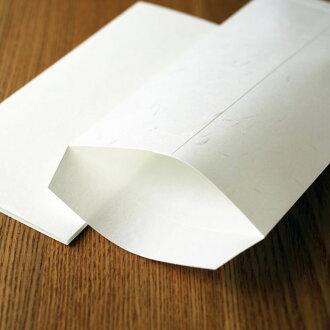 特漉大直礼状紙長3封筒(100枚入)A4三つ折りが入る和紙のコピー・プリンター用封筒<業務用>【ラッピング不可】