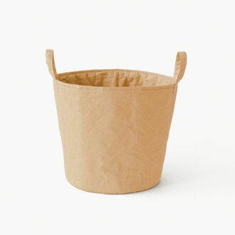 SIWAランドリーボックスM_洗濯かご・収納ボックス