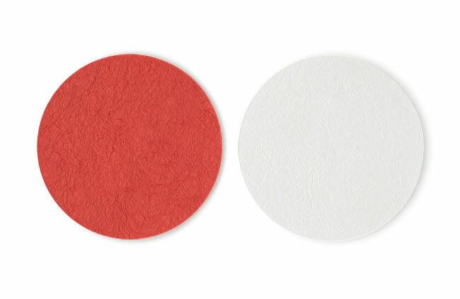 紅白 丸コースター