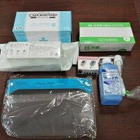 【在庫限り限定特価】コロナ感染予防対策セット パルスオキシメーター もセットフィット使いきりマスク入り