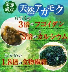 国産天然アカモク<4パックセット>(250g×4パック:合計1kg)