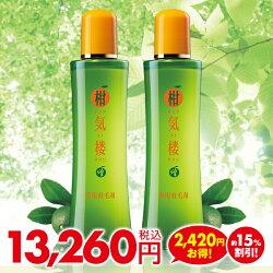 薬用育毛剤柑気楼200mL増量ボトル