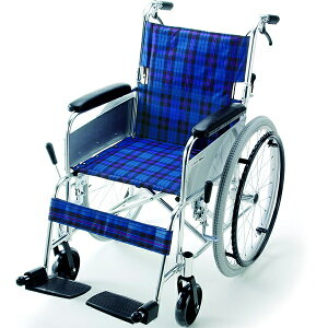 軽くて使いやすい、安心の車椅子!折りたたみアルミノーパンク車椅子