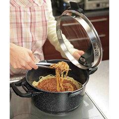 優れた熱伝導率で調理がスピーディー!御家(おうち)の料理人 セラミックコーティング鍋6点セット