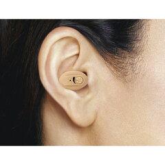 コンパクトで目立ちにくい補聴器!ニコン・エシロール 耳あな型補聴器イヤファッションNEF-05<...