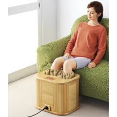 温熱とセラミック8個で温める。お湯のいらない脚温器!すこやかセラミック足湯
