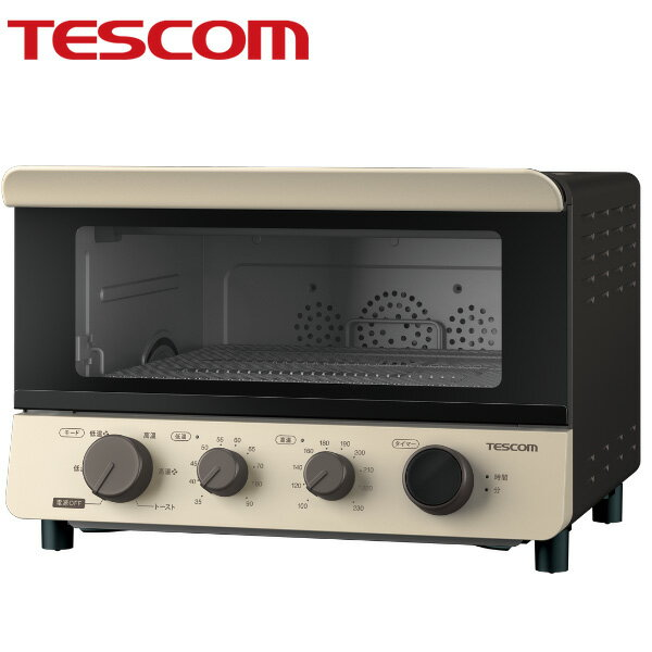 低温調理もできるコンベクションオーブン【送料無料】テスコム TSF601 TESCOM トースター ノンフライヤー 発酵食品 フードドライヤー 低温コンベクションオーブン