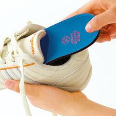 足裏アーチを支えて、歩きをサポート。ジョイントガードソール 3足組<S(22.5〜25.0cm)>