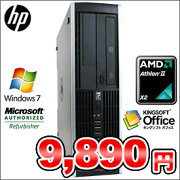 ����š�HPCompaq6005ProSFF��CPU:AMDAthlonII2.80GHz����:2GBHDD:160GBDVD-ROMWindows7HomePremium��鿴�ԡ�����Ը����ۤɤۤɥ��ڥå����