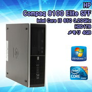 �ڥϥ?���󥻡��뤪������ѥ�����!!�ۡ���šۥǥ����ȥåץѥ�����HPCompaq8100Windows7��1����Corei56503.20GHz����4GBHDD1TB��KingsoftOffice2010���󥹥ȡ���Ѥߡ�������̵��(�����ϰ���)��