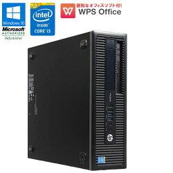 WPSOffice付【中古】デスクトップパソコンHPEliteDesk600G1SFFWindows10ProCorei341603.60GHzメモリ4GBHDD500GBDVDマルチドライブDisplayPort初期設定済送料無料(一部地域を除く)中古パソコン