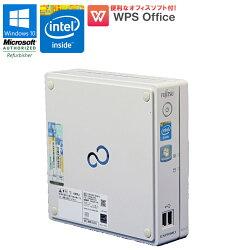 WPSOffice付Windows10中古パソコン中古パソコンデスクトップパソコン富士通FUJITSUESPRIMOB532/GCeleronG1610T2.30GHzメモリ4GBHDD320GBドライブレス初期設定済コンパクト小型