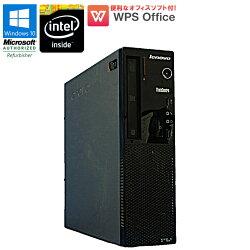 WPSOffice付中古パソコンデスクトップパソコン中古パソコンlenovoThinkCentreE72Windows10ProCeleronG4702.0GHzメモリ4GBHDD250GBDVDマルチドライブ初期設定済