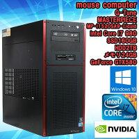 限定1台!中古ゲーミングパソコンmousecomputerabee(アビー)コラボアルミケースG-TuneMASTERPIECEMP-i1520SA9-LiquidWindows10Corei79803.33GHzメモリ24GBSSD160GBHDD2TBGeForceGTX580BDドライブ自作PCBTOWPSOffice(KingsoftOffice)付初期設定済送料無料
