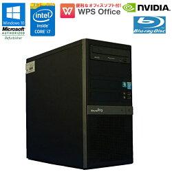 限定1台WPSOffice付【中古】カスタムゲーミングパソコンmousecomputerMPRO-T670X-A-1401Windows10Corei747703.40GHzメモリ16GBSSD480GBHDD2TBBlu-rayドライブNVIDIAGeForceGTX1070初期設定済90日保証新品SSD搭載!