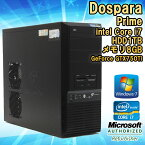 ����ťǥ����ȥåץѥ�����ۥɥ��ѥ�DOSPARAPrimeWindows7Corei726003.4GHz����2����ۥ���8GBHDD1TB