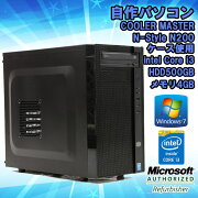 �����1�桪�����šۥǥ����ȥåץѥ����󼫺�ѥ������CoolerMaster��������ǥ��Windows7Corei343503.6GHz����4GBHDD500GB������̵��(�����ϰ���ۢ�KingsoftOffice2010���󥹥ȡ���Ѥߡ�