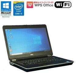 WPSOffice付【中古】ノートパソコンDELLLATITUDEE6440Windows10Corei54310M2.7GHzメモリ4GBHDD320GBDVDマルチドライブHDMI初期設定済送料無料(一部地域を除く)