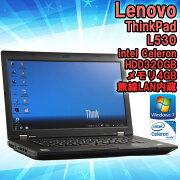 ����šۥΡ��ȥѥ�����Lenovo(��Υ�)ThinkPadL530Windows715.6�����CeleronB8301.80GHz����4GBHDD320GB���̵��LAN��¢�ۡ�����̵��(�����ϰ���ۢ�KingsoftOffice2010���ȡ���Ѥߡ�