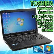����šۥΡ��ȥѥ��������dynabookSatelliteL42240Y/HDWindows715.6�����Corei3M3702.40Hz��HDTFT���顼LED�վ��ۡ�̵��LAN�ʤ��ۡ�����̵������KingsoftOffice2010���ȡ���Ѥߡ�