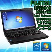 ����šۥΡ��ȥѥ������ٻ���(FUJITSU)LIFEBOOKA553/HXWindows715.6�����IntelCeleron1000M1.80GHz��̵��LAN��Bluetooth��ܡۡڥƥ��ե����ܡ��ɡۡڥӥ��ͥ���ǥ�ۢ�KingsoftOffice2010���ȡ���ѡ�����̵����