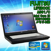 ����šۥΡ��ȥѥ������ٻ���LIFEBOOKA561/CWindows715.6�����Corei52540M2.50GHz����4GBHDD160GB��̵��LAN�ʤ��ۢ�KingsoftOffice2010���󥹥ȡ���Ѥߡ�������̵��(�����ϰ���)��