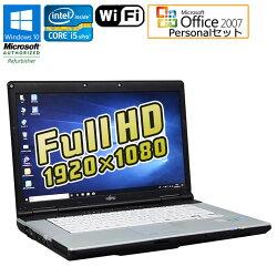 MicrosoftOfficePersonal2007セット【中古】ノートパソコン富士通(FUJITSU)LIFEBOOKE742/EWindows10Pro64bit15.6インチ(フルHD1920×1080)Corei5vPro3320M2.60GHzメモリ4GBHDD250GBDVD-ROMHDMI無線LANSDスロット初期設定済