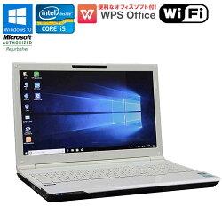 WPSOffice付【中古】ノートパソコン富士通LIFEBOOKAH46/HWindows10Corei53210M2.50GHzメモリ4GBHDD640GBBD-REドライブ初期設定済送料無料(一部地域を除く)