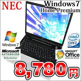 スペック :Core 2 Duo T5500 1.66GHz / 2GB / 80GB / DVDコンボ/15inch スクエア型液晶【中古...