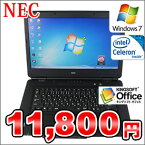 ����š�NECVersaProVJ20MA-A��Windows7Pro�����ꥫ�Х����!!Celeron/2GB/160GB/DVD�ޥ��/15.6���磻�ɡۡ�0905-0910SS��