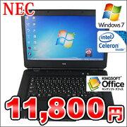 ����š�NECVersaProVJ20MA-A��Windows7Pro�����ꥫ�Х����!!Celeron/2GB/160GB/DVD�ޥ��/15.6���磻�ɡۡ�0905-0910SS��