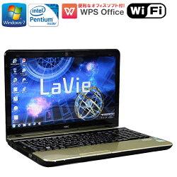 限定1台!WPSOffice付【中古】ノートパソコンNECLaVieLS150/HWindows7PentiumB9702.30GHzメモリ4GBHDD750GBDVDマルチドライブ初期設定済送料無料(一部地域を除く)