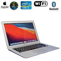 限定1台【中古】ノートパソコン中古パソコンApple(アップル)MacBookAir7.2A1466シルバーMacOSBigSurCorei51.60GHzメモリ4GBSSD128GB13-inchEarly2015箱付き初期設定済