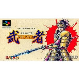 【中古】【箱説明書なし】[SFC]豪槍神雷伝説 武者(Gousou Jinrai Densetsu: Musya)(19920421)