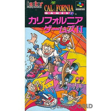 【中古】【箱説明書なし】[SFC]カリフォルニアゲームズII(CALIFORNIA GAMES 2)(19930312)