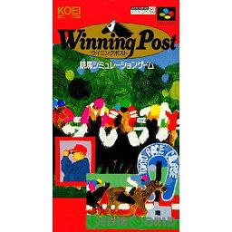 【中古】[SFC]ウイニングポスト(Winning Post)(19930910)