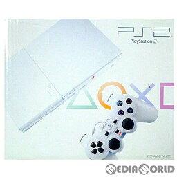 【中古】[お得品]【B品】[本体][PS2]プレイステーション2 PlayStation2 セラミック・ホワイト(SCPH-90000CW)(20071122)