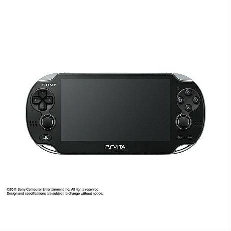 プレイステーション・ヴィータ, 本体 PSVitaPlayStation Vita Wi-Fi (PCH-1000ZA01)(20111217)