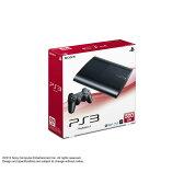 【中古】[本体][PS3]プレイステーション3 PlayStation3 HDD500GB チャコール・ブラック(CECH-4000C)(20121004)【RCP】