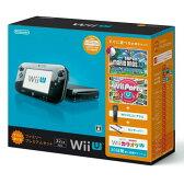 【中古】[本体][WiiU]Wii U すぐに遊べるファミリープレミアムセット(クロ)(WUP-S-KAFS)(20131031)【RCP】
