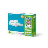 【中古】[本体][WiiU]Wii U すぐに遊べるファミリープレミアムセット+Wii Fit U(シロ)(WUP-S-WAFT)(20131031)【RCP】