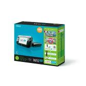 【中古】[本体][WiiU]Wii U すぐに遊べるファミリープレミアムセット+Wii Fit U(クロ)(WUP-S-KAFT)(20131031)【RCP】