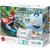 【中古】[本体][WiiU]Wii U すぐに遊べる マリオカート8 セット シロ(WUP-S-WAGH)(20141113)【RCP】